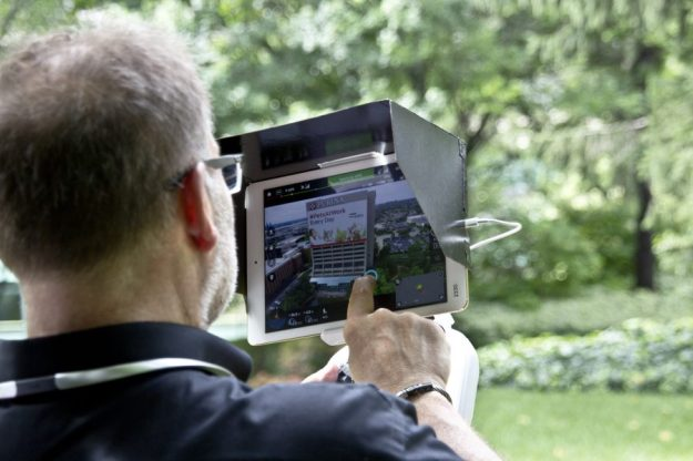 Rob Haller, St Louis Drone Navigator